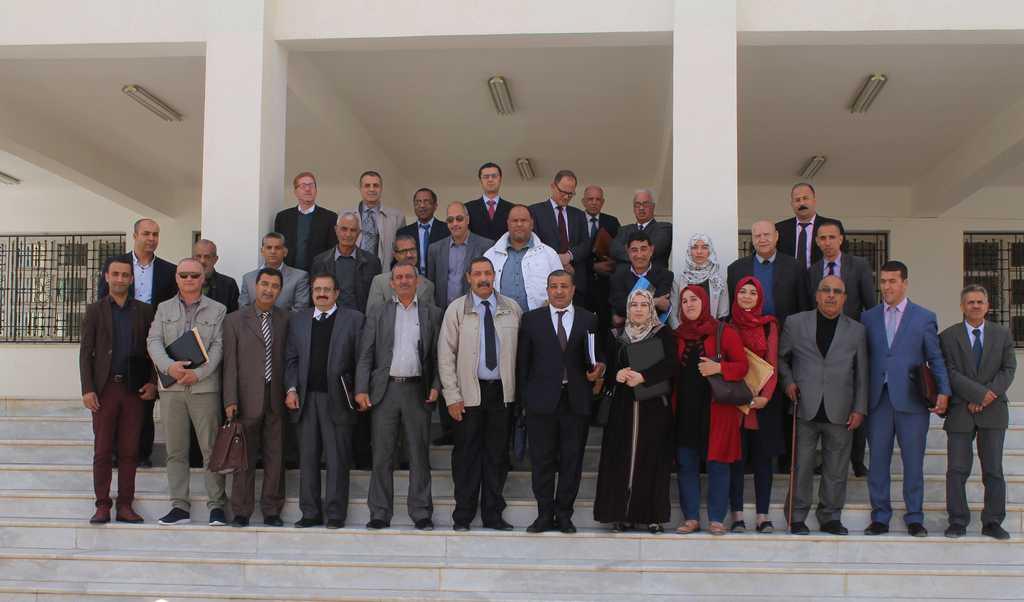 اجتماع مجلس ادارة جامعة محمد خيضر بسكرة